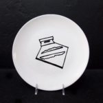Cocaine, 10' Ceramic Plate Just like your mom's dishes