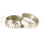Bamboo Collection Men's Rings