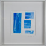 Cote d'Azur Watercolor on Paper Framed Original Art