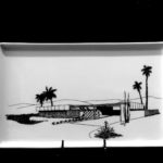 Twin Palms Estates A3 1957. Porcelain Tray. Architects: Palmer & Krisel. Food and dishwasher safe.