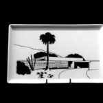 Rancho Vista Estates 1960. Porcelain Tray