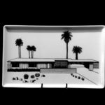 Sunmore Estates 1957 Porcelain Tray Architects Palmer & Krisel Food and dishwasher safe.