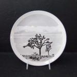 Joshua Tree 3, Joshua Tree 10' Ceramic Plate