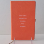 """Syphilis"" Blank Journal"