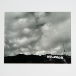 Hollywood Sign, B&W