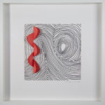 "Serpentine Framed Original Art 10"" x 10"""
