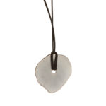 Rocks Collection. Matte pewter in a shape inspired by the rock formations of Joshua Tree.